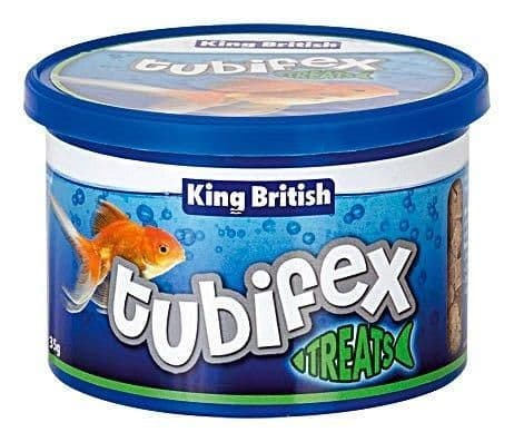 King British Tubifex Natural Food 35g